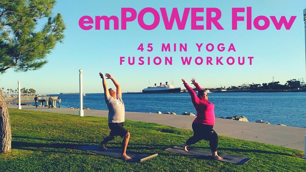 Video - Corepower Yoga emPOWER Flow | 45 min Yoga Workout ...