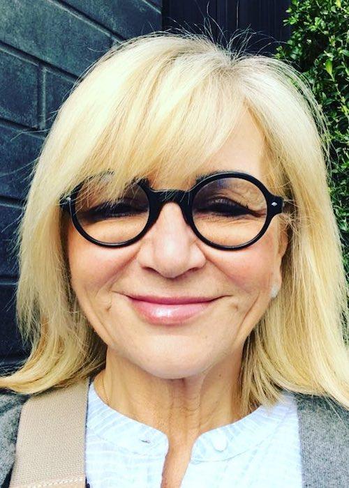 Sally Morgan in an Instagram selfie in April 2018